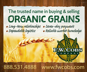 F.W. Cobs Company - The trusted name in buying and selling Organic Grains