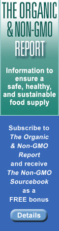 Free bonus for subscribing to The Organic & Non-GMO Report
