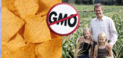 No GMO corn chips and family farm